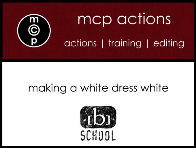 becker tut copy 680x516 Video Tutorial: on the [b] school {making a white dress white}