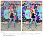 Enhance a Graffiti Wall with Extreme Color Pop and Contrast Using Photoshop Actions