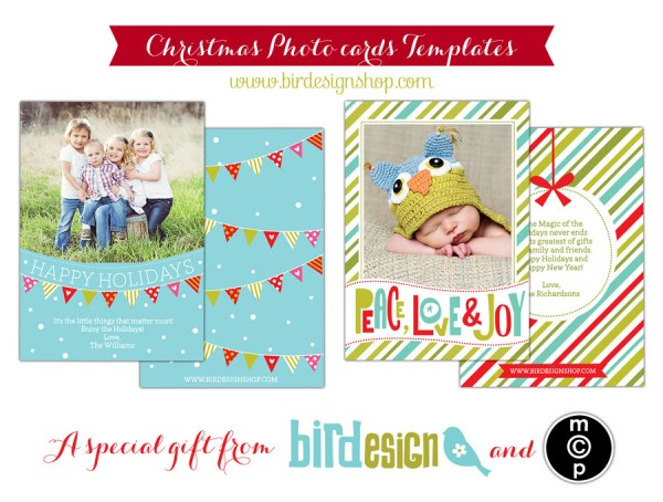 Free Holiday Card Template for Photographers: Download Now