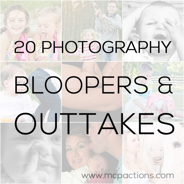 bloopers and outtakes