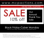 MCP's Annual Thank You Sale: Save 10% Now