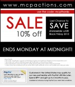coupon 2012 cyber monday 150x174 MCPs Annual Thank You Sale: Save 10% Now