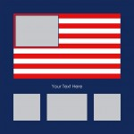 flag example blank 150x150 Free 10x20 DAD Template   perfect for Fathers Day Gifts