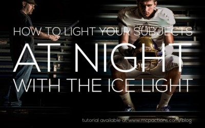 How to Light Your Subjects at Night with the Ice Light