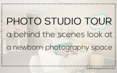 Photo Studio Tour: Behind the Scenes Look at a Newborn Studio
