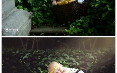 Edit Newborn Photographs Quickly with Photoshop Actions