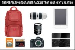 photog pack list 150x100 10 Things to Photograph on Every Vacation