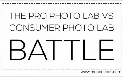 The Pro Photo Lab VS Consumer Photo Lab Battle