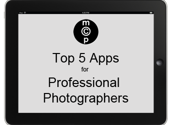 Top 5 iPad Apps for Professional Photographers