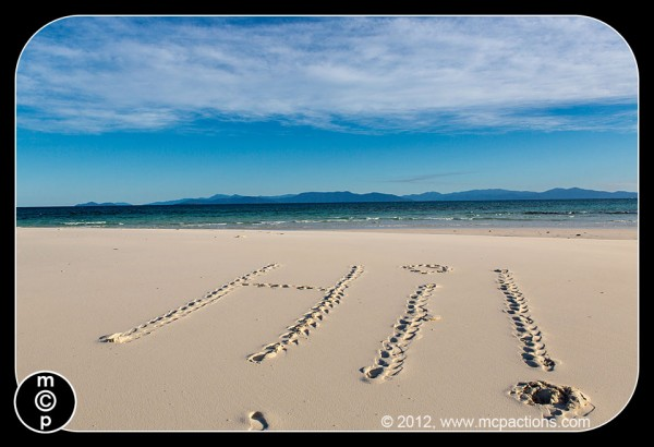 sandy cay27 600x410 A Fun Beach Activity For Photographers: X Marks The Spot