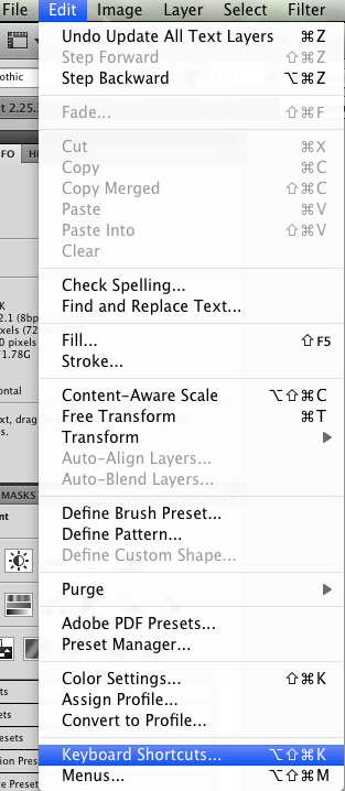 screen shot 2009 12 11 at 25040 pm Quick Tip: Photoshop Shortcuts