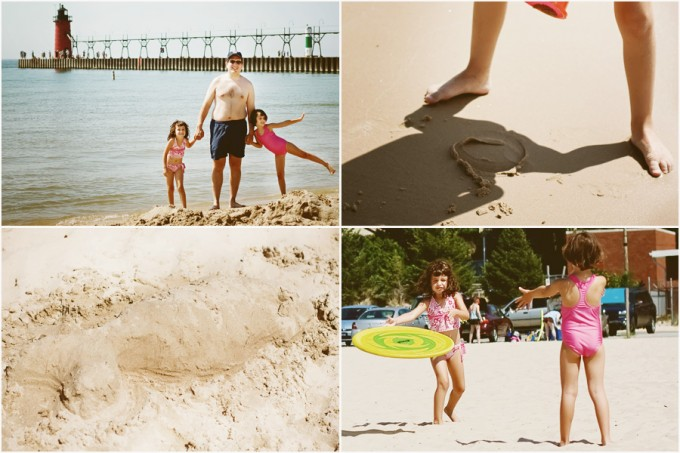 south haven blog collage2 680x453 End of Summer   vacation photos   tall ship and beaches...