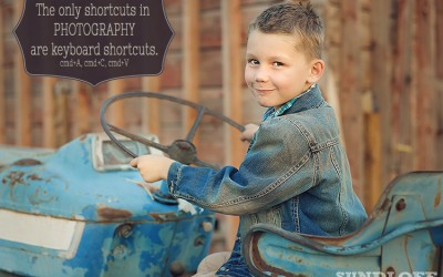 Learn How to Take Shortcuts When You Edit in Photoshop
