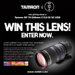 tamron 70 200 600x600 150x150 WIN AN SLR LENS: Brand New Tamron Lens – 18 270mm or 28 300mm