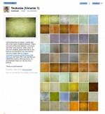 texture volume 1 150x164 Watch Me Work + 5 customers to win scrapbooking paper pack set