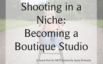 Shooting In a Niche: Becoming a Boutique Studio
