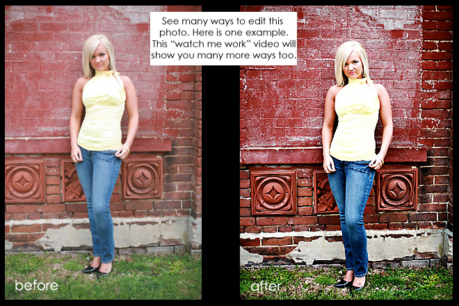 watch me work quickie set Watch Me Work   {creating many looks for one image}
