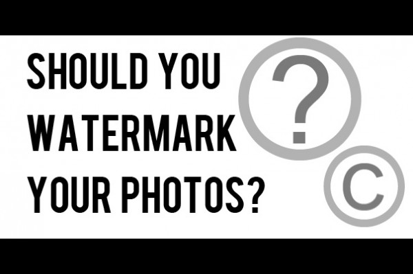 watermark 600x399 Are You Making Mistakes Regarding Watermarking Your Photos?