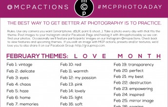 mcpphotoaday February
