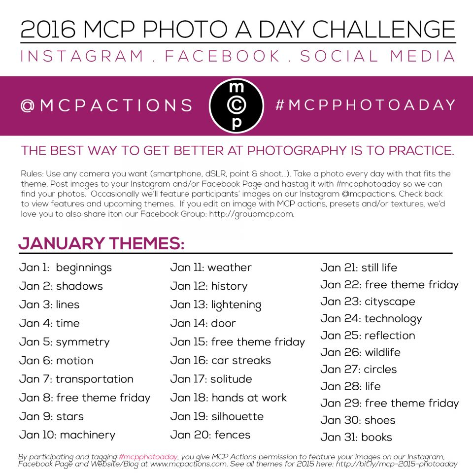EVENT: DEEP WINTER PHOTO CHALLENGE ON JANUARY 15th | Unofficial Networks