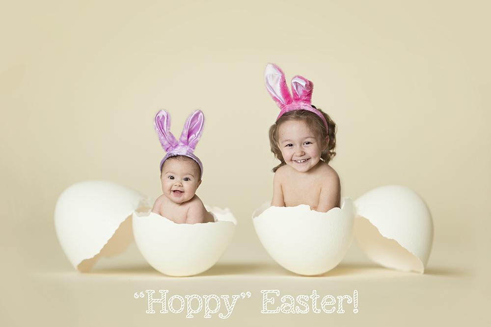 How To Create Unique Easter Egg Composite Portraits Mcp