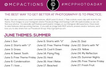 mcpphotoaday june