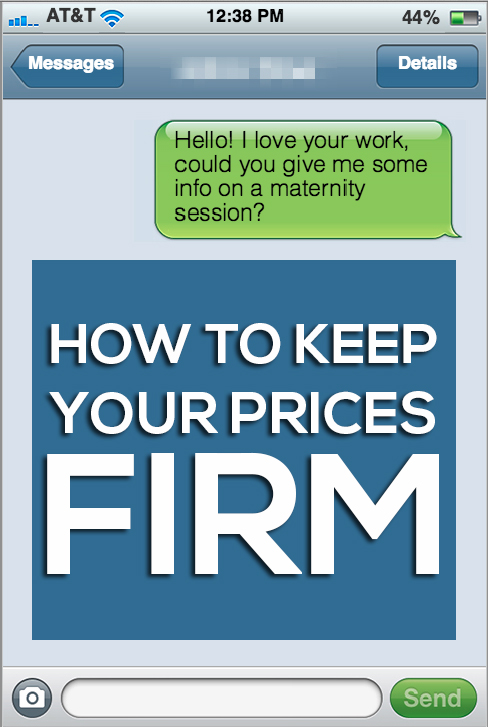 How to Keep Your Prices Firm