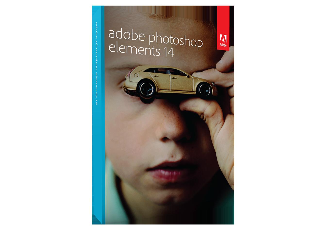 Photoshop Elements 14 Boxshot_Side