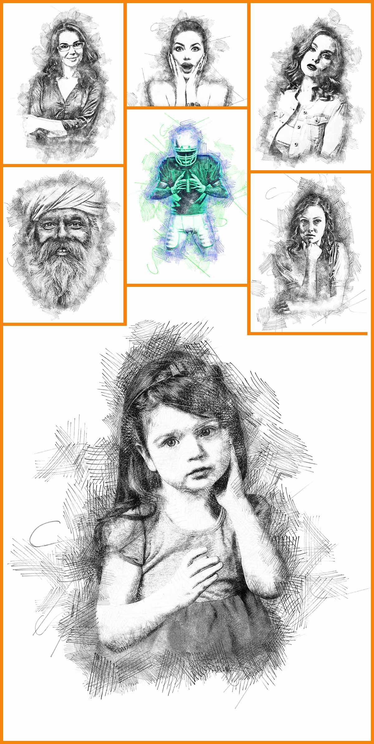 customization-tips Felt-Pen Sketch Photoshop Action