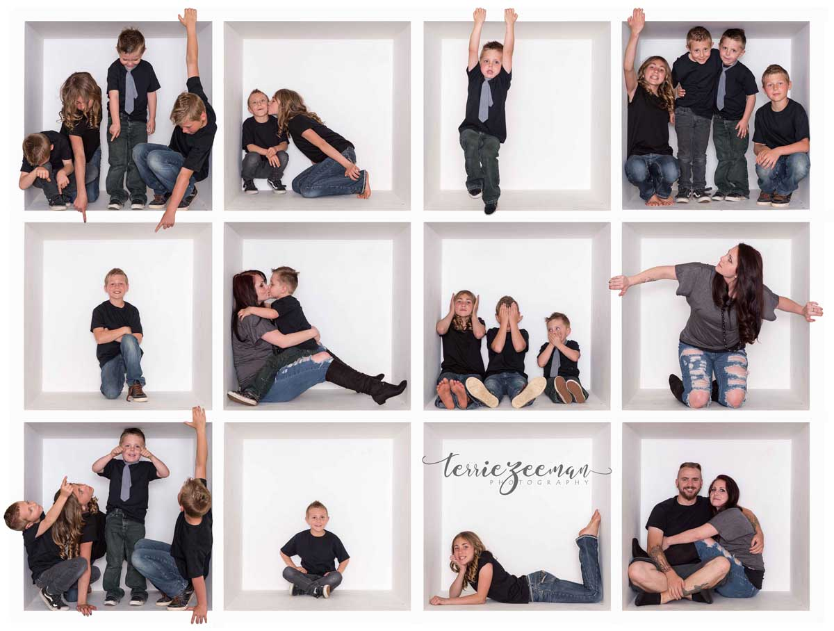 family-121 THINK OUTSIDE THE BOX … USE THE BOX IN YOUR PHOTOGRAPHY Activities