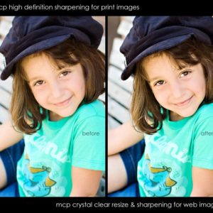 Free Photoshop sharpening action