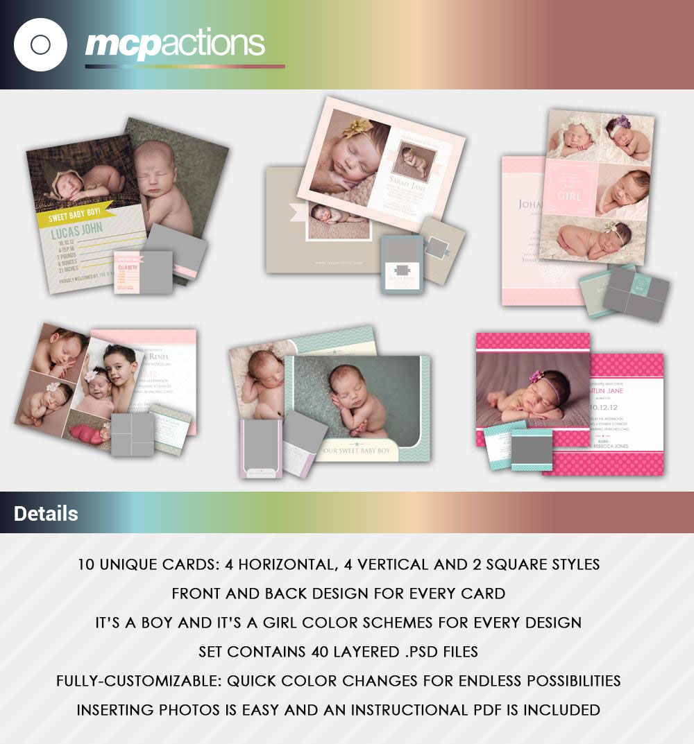its-a-boy-girl-templates-1 MCP Actions™ Baby Bundle Newborn Photography Editing and Learning Tools