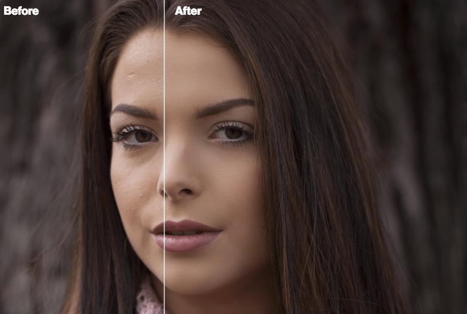 portraitsuite5 Portrait Suite Frequency Separation Photoshop Action