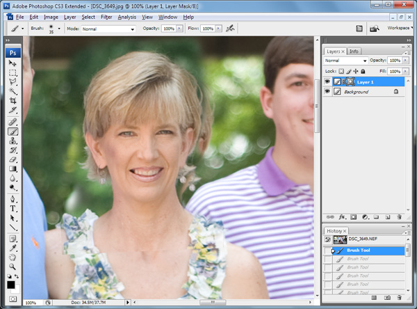 07 Photoshop Tutorial: 9 Quick Steps for Head Swapping / Face Transplant Guest Bloggers Photoshop Actions Photoshop Tips & Tutorials