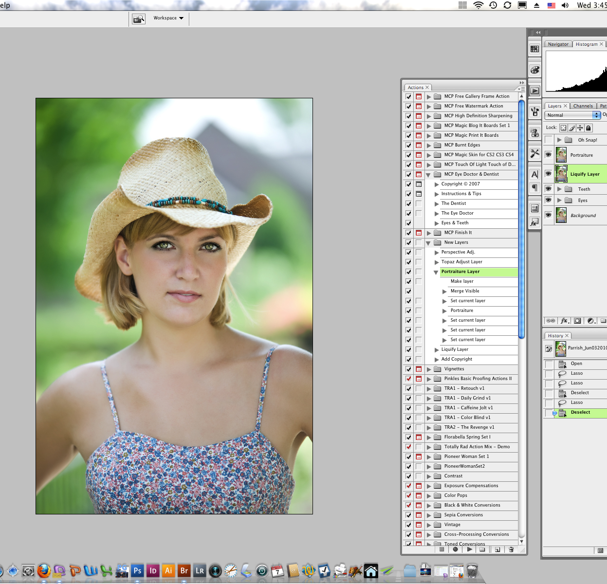 09-Layers-Actions Digital Workflow Using Photoshop and Adobe Camera Raw and Bridge Guest Bloggers Photoshop Tips & Tutorials