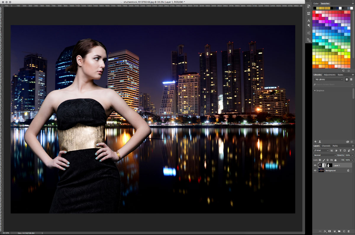 10-Overlay-Image How to turn studio shots into on location shots in just a few simple steps Activities Lightroom Presets Lightroom Tutorials Photoshop Tips & Tutorials