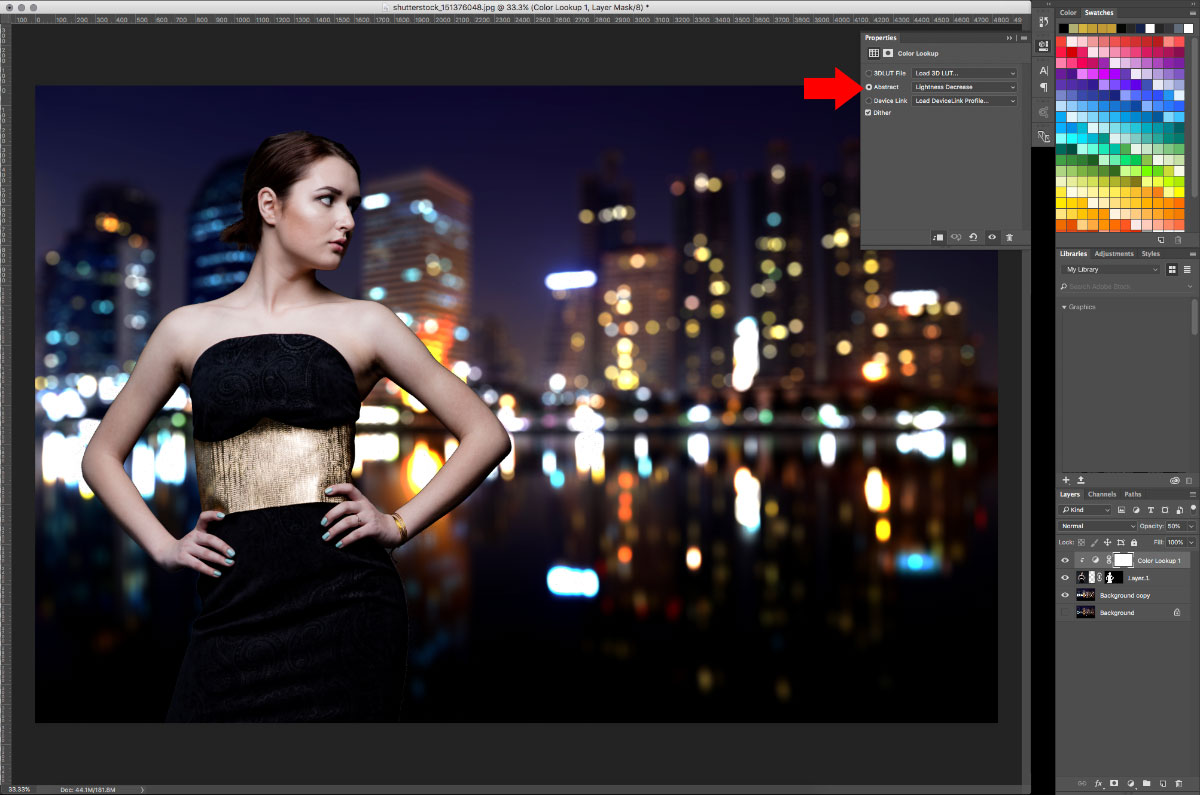 13-Color-Lookup How to turn studio shots into on location shots in just a few simple steps Activities Lightroom Presets Lightroom Tutorials Photoshop Tips & Tutorials