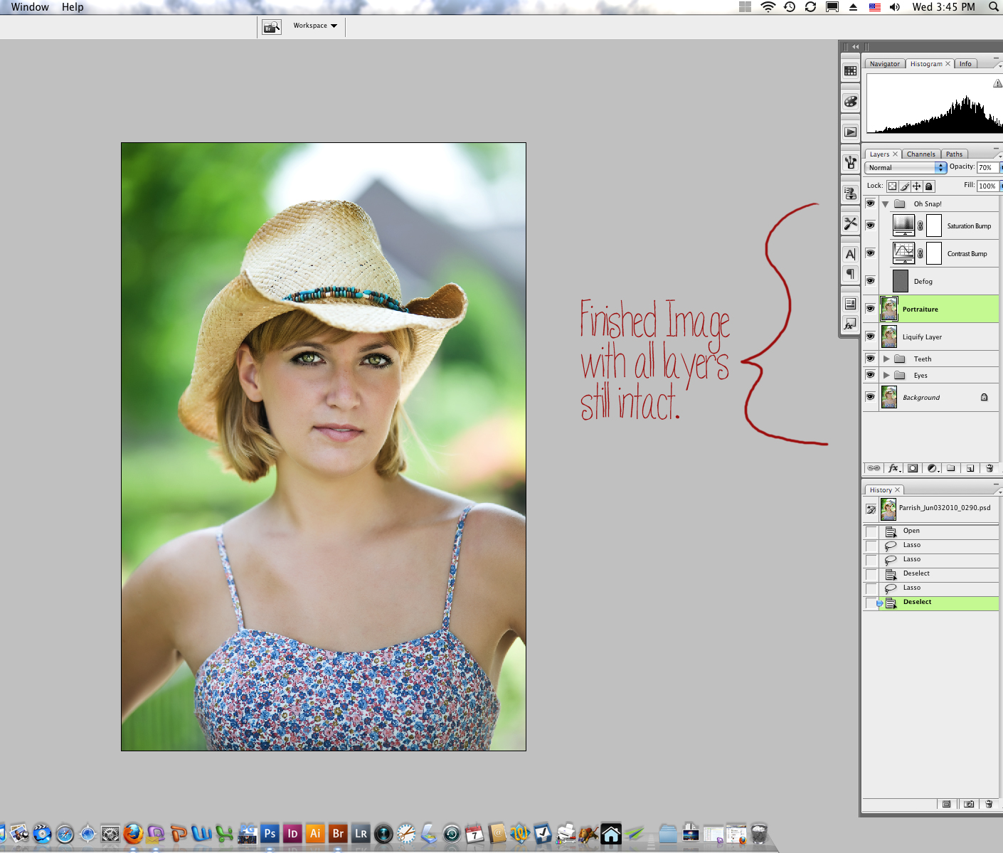 13-Layers Digital Workflow Using Photoshop and Adobe Camera Raw and Bridge Guest Bloggers Photoshop Tips & Tutorials