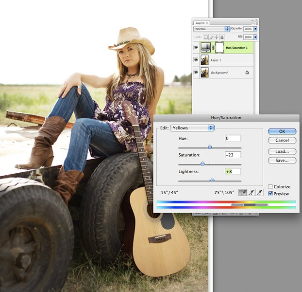3-thumb2 Post Processing Senior Style with Sandi Bradshaw Blueprints Guest Bloggers Photoshop Tips & Tutorials