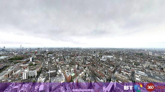 320-gigapixel-panorama-image-bt-tower BT creates 320-gigapixel panorama image of London using Canon 7D Exposure