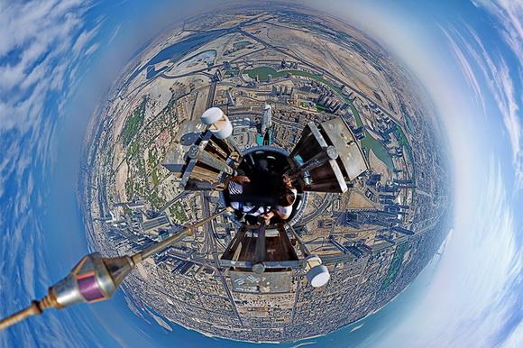 360-degree Dubai panorama