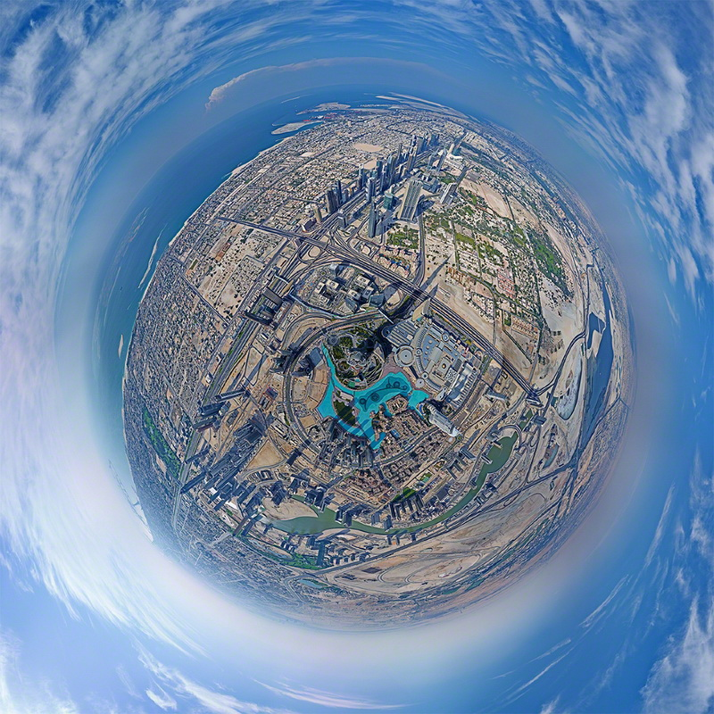 360-degree-panorama-dubai-edited Wonderful 360-degree panorama of Dubai from Burj Khalifa's top Exposure