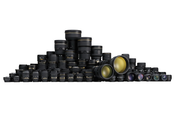 95 million Nikon lenses