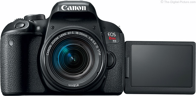 Canon-EOS-Rebel-T7i Canon EOS Rebel T7i / 800D Review News and Reviews