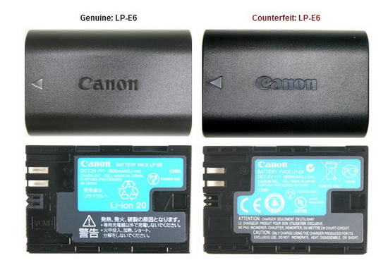 Canon-awareness-campaign-counterfeit-products Canon launches awareness campaign about counterfeit accessories News and Reviews