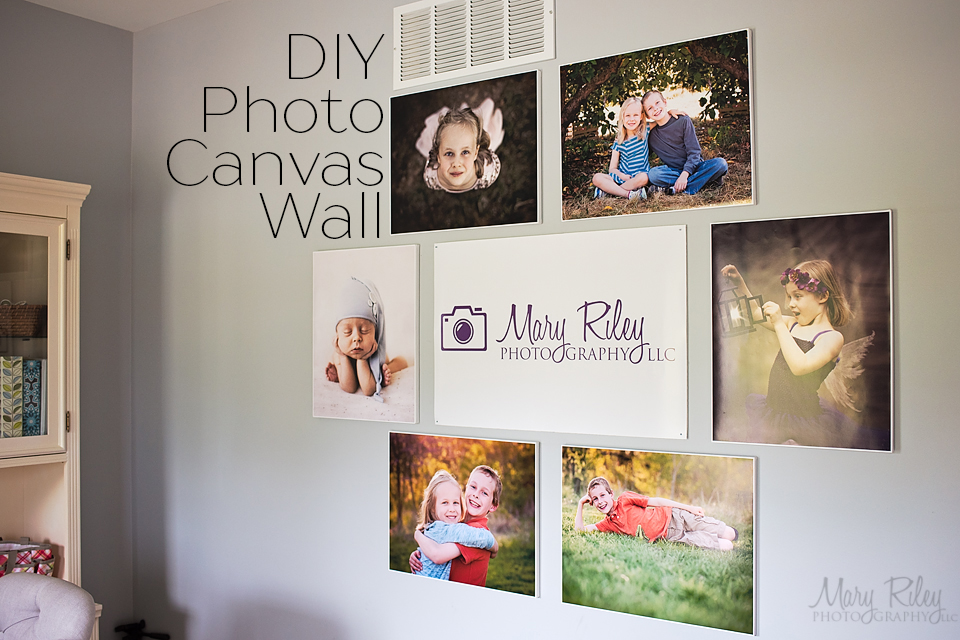 Canvas-Wall-DIY-2-Mary-Riley-Photography-Wentzville-Missouri How to Make a DIY Photo Canvas on a Budget Activities Guest Bloggers