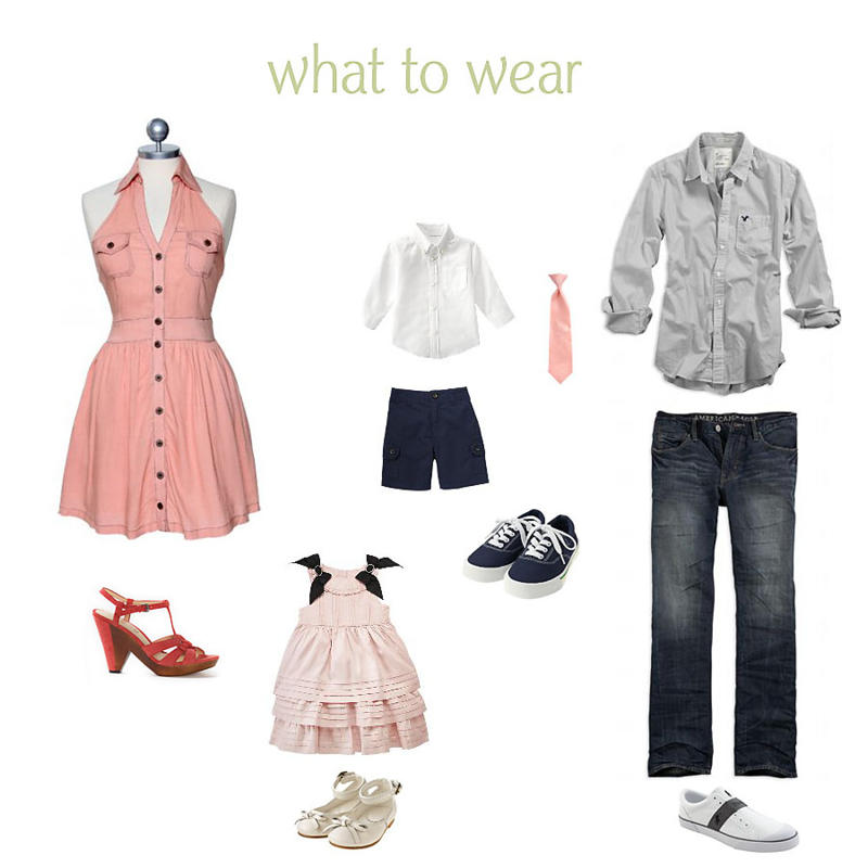 FamilyW2W What to Wear: How to Dress for Family Pictures Guest Bloggers Photography Tips