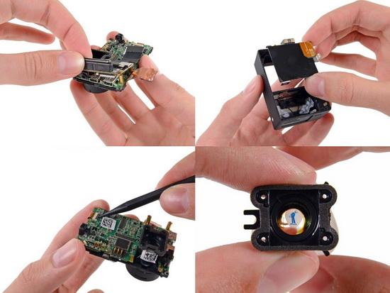 GoPro-Hero-3-teardown-aspherical-glass-lens GoPro Hero3 teardown reveals Sony image sensor News and Reviews
