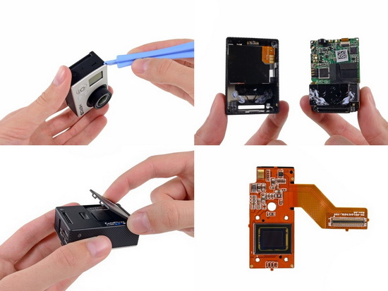 GoPro-Hero3-teardown-Sony-image-sensor GoPro Hero3 teardown reveals Sony image sensor News and Reviews