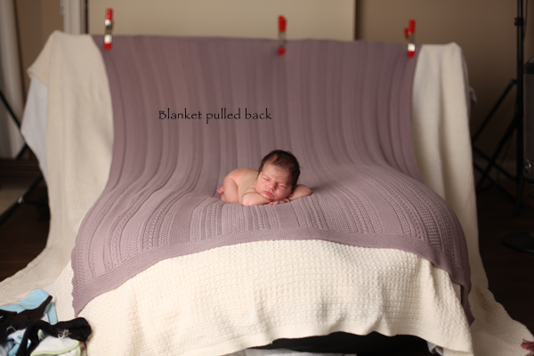 IMG_7398Blanketpulledback1 Newborn Photography: How To Achieve The Blanket Fade In Camera Guest Bloggers Photo Sharing & Inspiration Photography Tips
